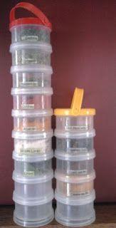 Reciclagem: Organizando Temperos na Cozinha