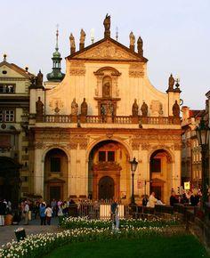 Česko, Praha - Kostel sv.Salvátora