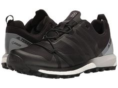 b871b715e7e783 adidas Outdoor Terrex Agravic GTX (Black Black White) Men s Shoes. Kick