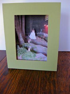 DIY Shadowbox wedding gift from 4 photos