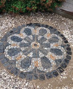 Pebble Mosaic, Stone Mosaic, Pebble Art, Belgian Block, Garden Art, Stepping Stones, Stained Glass, Exterior, Landscape