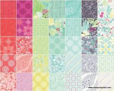 Canyon Charm Pack - Kate Spain - Moda Fabrics — Missouri Star Quilt Co.