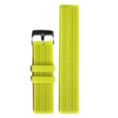 20mm Good Neon Yellow Silicone Jelly Rubber Unisex Watch Band Straps WB1064T20JB