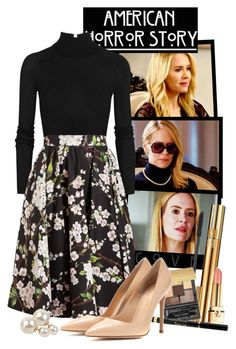 """""""Cordelia Foxx (American Horror Story Coven)"""" by giovanna1995 ❤ liked on Polyvore featuring Coven, T By Alexander Wang, Dolce&Gabbana, Yves Saint Laurent, Gianvito Rossi, Armitage Avenue, americanhorrorstory, ahs and cordeliafoxx"""