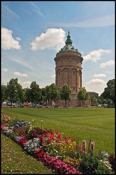 Wasserturm, Mannheim, Baden-Württemberg