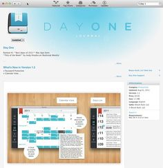 To Buy: Day One app for Mac.