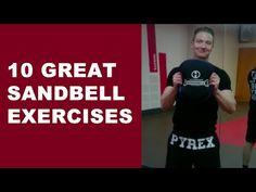 10 Great Sandbell Exercises - YouTube