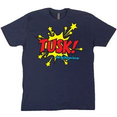 TUSK Fleetwood Mac Navy Blue T Shirt by RainbowPieClothing, £17.00