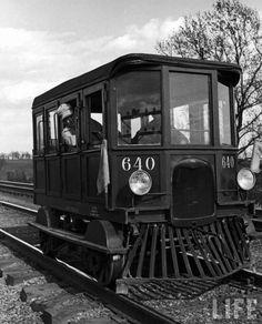 Model A Ford railcar