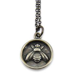Honey Bee Seal Necklace