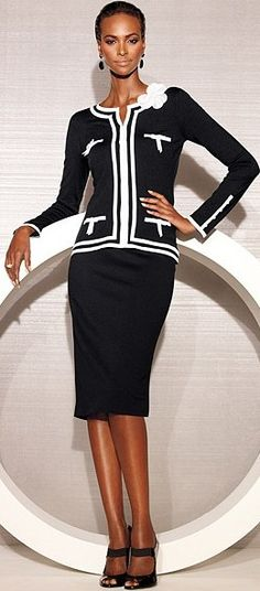 black white suit ♥✤ | Keep the Glamour | BeStayBeautiful