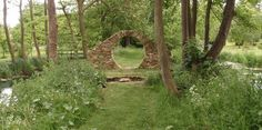 'The Moon Gate' – at Steane Park in Northamptonshire, taken from a design by Mary Reynolds at the Chelsea Flower Show of 2001. Image by WindBlown2011. www.flickr.com