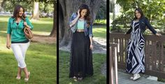 3 Outfits for the Curvy Girl | Simply Marlena
