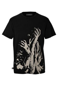 Zombie Hands T-shirt by #musterbrand