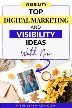Top Digital Marketing Ideas for Visibility from my students. Use these Digital marketing ideas for 2021! | Maddy Osman, aka The Blogsmith, shares lessons learned about freelancing, WordPress plugins for bloggers, SEO writing and top digital marketing ideas. You can find her latest knowledge drop to help you grow to a six-figure business at www.the- blogsmith.com/blog