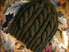 Ravelry: Irish Hiking Hat (archive) pattern by Alicia Granquist.  Free Download Pattern Available.