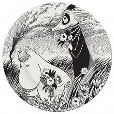 Petit Jour Paris Assiette Moomin - Une Magnifique Journ'e Illustration Art Dessin, Illustrations, Les Moomins, Art Sketches, Art Drawings, Collages, Tove Jansson, Classic Paintings, Cute Cartoon Wallpapers