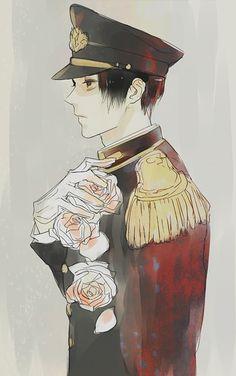 Hetalia (ヘタリア) - Japan (日本) -「八月十七日、花葬」/「澄(とおる)」のイラスト [pixiv]