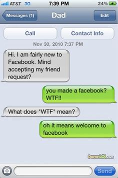 parents & facebook