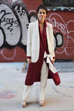 Leandra Medine, Look Fashion, Fashion Outfits, Womens Fashion, Fashion Trends, Fashion Ideas, Fashion Story, Ladies Fashion, Suit Fashion