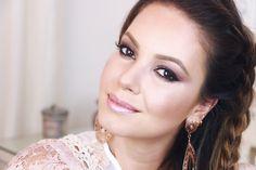 Por Dentro... em Rosa: Maquiagem rose gold por Juliana Goes