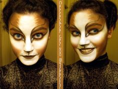 My second *official* Cats face! Found some brown makeup! That makes 3 colors so far: black, white and brown! Cassandra was definitely a challenge blend-wise and that crazy intricate eye design :whe. Face Paint Makeup, Cat Makeup, Deviant Art, Days Till Halloween, Jellicle Cats, Facial, Special Makeup, Cats Musical, Brown Makeup