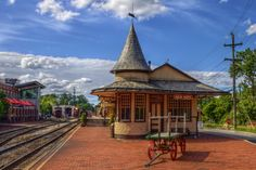New Hope & Ivyland Railroad Station in New Hope, #Pennsylvania