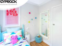 Having been awarded the first Gyprock® HomeStyle 'Share your Style' prize, Adelaide based Katie Vagg and her partner Ben Spry were inspired to undertake a renovation project to transform an old, dark family room into two bright and fun modern kids bedrooms.