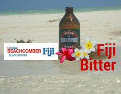 It's Beer O'clock! Fetch yours from the bar and join us by the waters-edge! Life is simply beautiful by the ocean! BTW - who misses #fijibitter ?