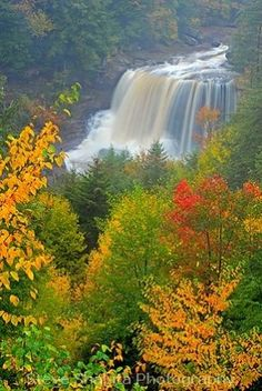 Blackwater Falls, West Virginia by One