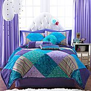 Seventeen® Crystal Violet Comforter Set & More