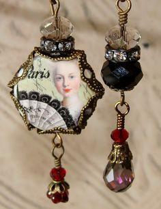 Marie Antoinette in Paris diy jewelry making