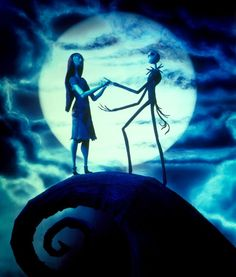 The Nightmare before Christmas Grace wants this mural on her wall @Aileen Vickery Roberts
