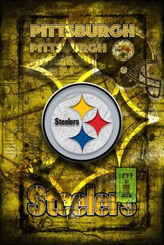 nfl with a picture of my garden to the store. Steelers Gifts, Pitsburgh Steelers, Steelers Stuff, Pittsburgh Steelers Wallpaper, Pittsburgh Steelers Football, Nfl Football, American Football, Steelers Images, Man Cave Posters