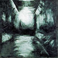 L'Odio di I. 1992 oil on canvas cm. 90x90