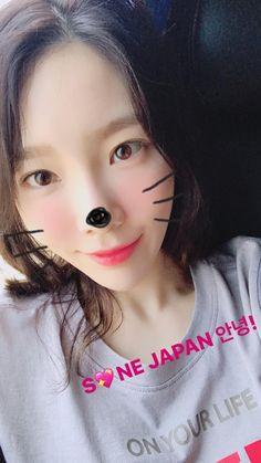 taeyeon_ss: SNE JAPAN 안녕!