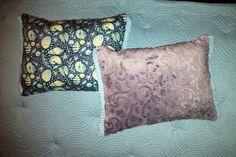 Reversible #grey and #beach themed #mint lumbar #pillows #LaneOriginal