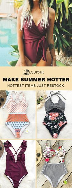 Hot Items Restock! ALL size available. Celebrate the season with these fabulous swimsuits, adorable & affordable, fulfill all your needs for a great summer! Let our swimsuits speak for you!