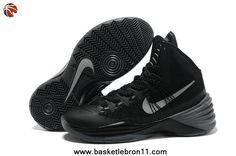 hot sale online 02bfb 9ef6c Nike Hyperdunk 2013 Black Metallic Silver Sale Online Nike Zoom, Kobe Shoes,  Nike