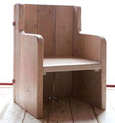 Costanza Algranti, Merlino L1 Bench Stool, Sustainable Design, Armchair, The Originals, Ideas, Furniture, Lab, Chairs, Home Decor