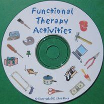 On-line catalog of over 200 functional therapy tasks and activities