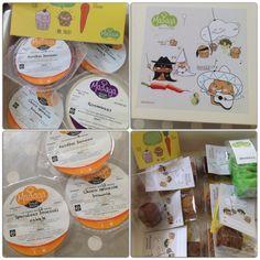 Mr. Treat traktatiepakket met verse cakejes met groenten voor baby's, peuters en kleuters