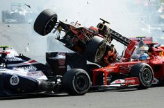 Look Formula 1 race in Spa - Very lucky in shambles - Sports ...