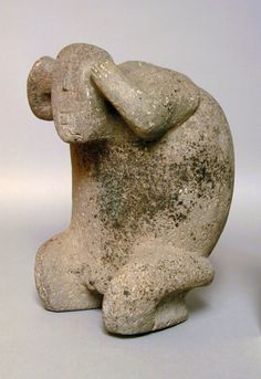 Kneeling Figure Mexico, Jalisco, Jalisco, 200 B.C. - A.D. 500 Sculpture