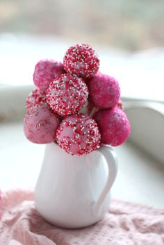 A Delightful Dish: Think Pink pops
