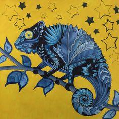 Book Magical Jungle Author Johanna Basford Medium Used Derwent Coloursoft Pencils Staedtler Silver And Blue Liner Black Posca