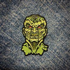 Goosebumps haunted mask pin $12