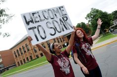 Hundreds of visitors came to campus each summer during SOAR first-year orientation sessions.