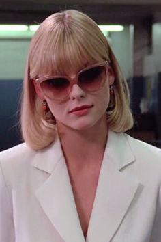 Michelle Pfeiffer - Scarface by Brian De Palma - © Universal Pictures Hollywood Fashion, Michelle Pfeiffer Scarface, Elvira Hancock, Scarface Movie, Elvira Scarface, Divas, Woman Movie, Iconic Movies, 18 Movies