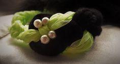 handmade ribbon bracelet
